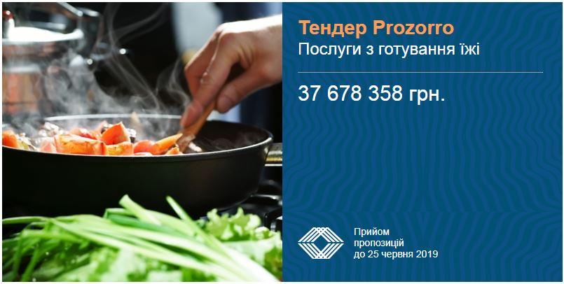 тендер приготування їжі