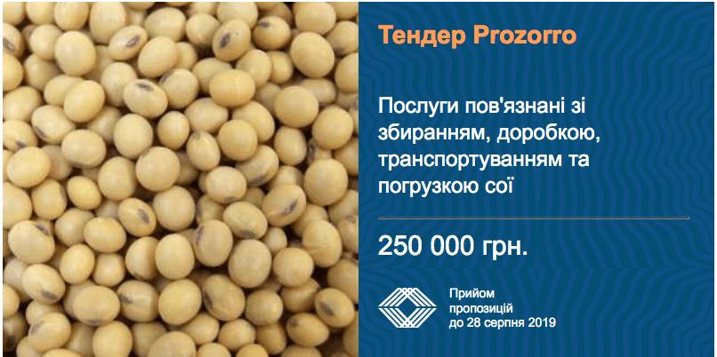 На збір сої інститут рису планує витратити 250 тис. грн